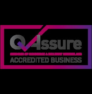 QAssure Accreditation supplier logo