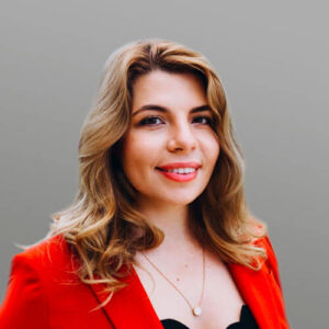 Photo of Olga Dobrovolskaia